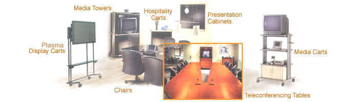 video conference furniture